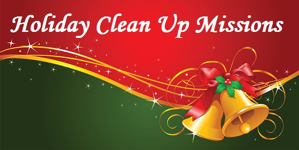 Holiday Clean Up Missions