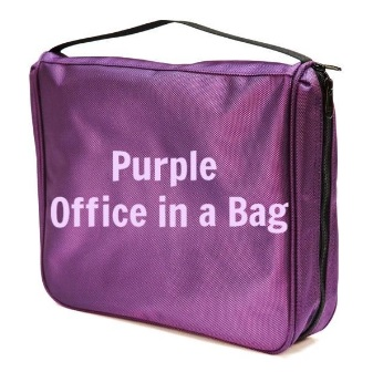 purpleofficeinabag