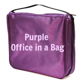 purpleofficeinabag