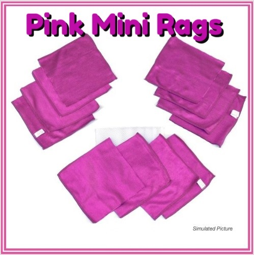 pinkhotminirags